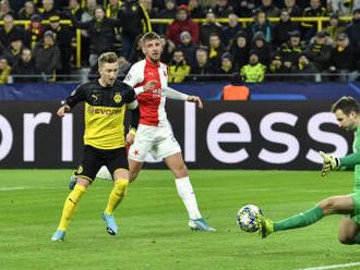 Slavia se rozloučila s LM prohrou 1:2 v Dortmundu