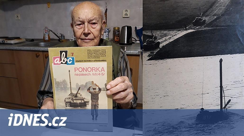 Technik změnil tanky na ponorky, jezdily i po dně Máchova jezera