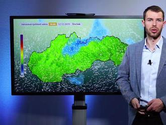 Na Slovensko spadnú návaly snehu!