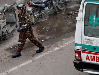 Požiar v centre indického hlavného mesta si vyžiadal 34 životov