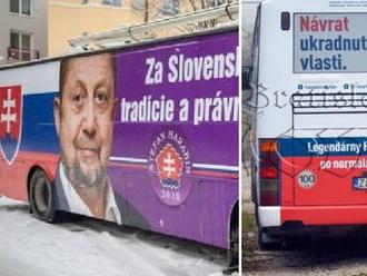 Predseda strany Vlasť upgradoval: FOTO Harabiňák 2, autobus má žilinský pôvod
