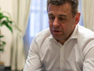 VIDEO Minister Sólymos v rozhovore: Svoj odstúpenie neľutuje, v koalícii bol dôležitý kompromis