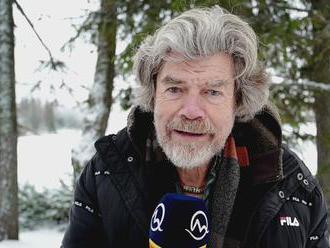 Legendárny himalájista Reinhold Messner prijal pozvanie Jána Tribulu na prechádzku po Tatrách