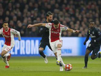 Liga majstrov: Real zvíťazil nad Ajaxom 2:1, Spurs zdolali Dortmund, premiéra VAR