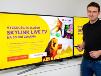 Petr Mareš  : Pro Skylink je OTT aplikace přirozeným doplňkem satelitní nabídky