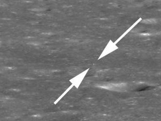NASA zverejnila snímku čínskej sondy na odvrátenej strane Mesiaca