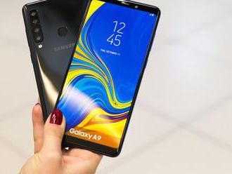 VIDEORECENZIA: Prvý smartfón so štyrmi fotoaparátmi Samsung Galaxy A9