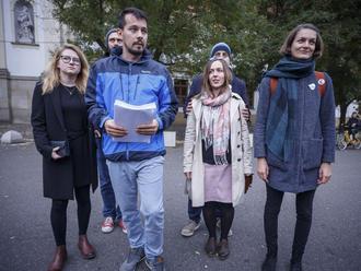 Anonymné trestné oznámenie na organizátorov protestov odmietli