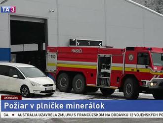 V Starej Ľubovni horelo, požiar vypukol v plničke minerálok