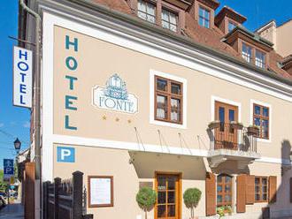Kúpele Győr v hoteli v centre mesta s celodenným vstupom do termálov a s raňajkami