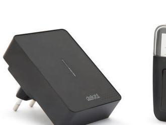 Digitálny bezdrôtový zvonček bez batérie so systémom