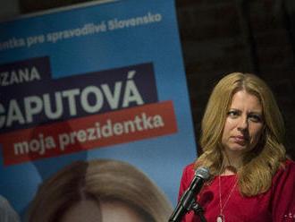 Na prvých miestach sa nič nemení, postupujú Z. Čaputová a M. Šefčovič