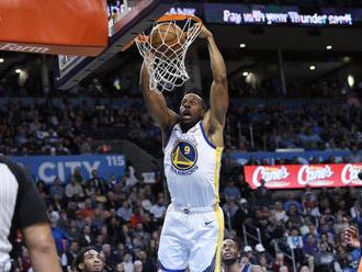 NBA: Obhajca Golden State zdolal Oklahomu City postúpil do play off