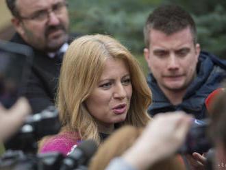 SaS gratuluje Čaputovej, jej výsledok považuje za výborné východisko