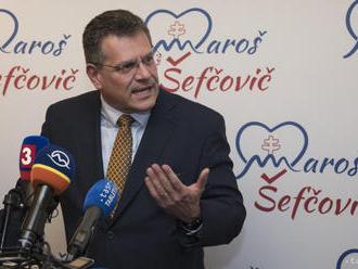 Až 60 percent ľudí má iný názor ako Z. Čaputová, tvrdí M. Šefčovič
