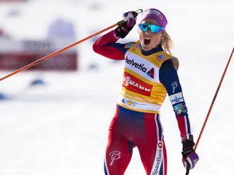 Lyžiarka Johaugová triumfovala na 10 km voľne vo Falune