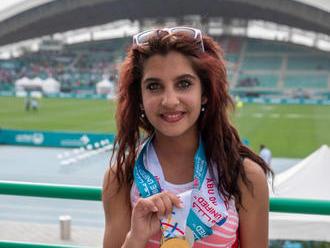 Mižigárová získala zlato na letných hrách Špeciálnych olympiád