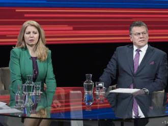 Českí politici uvítali úspech Čaputovej i Šefčoviča