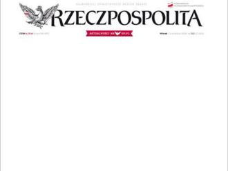 Polské noviny bojují za ochranu autorství na webech. Vyšly s prázdnou titulní stranou