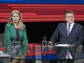 Zuzana Čaputová aj Maroš Šefčovič cítia volanie po zmene, obaja idú vyhrať