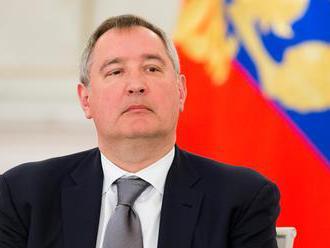 Rogozin: Rusko nechce postaviť stanicu na obežnej dráhe, ale na povrchu Mesiaca