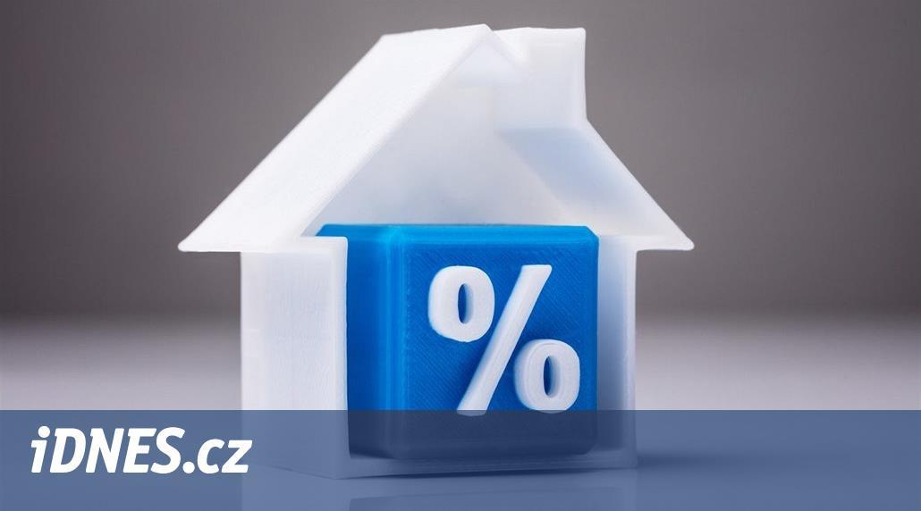 Úrokové sazby u hypoték se zastavily, některé banky dokonce zlevňují
