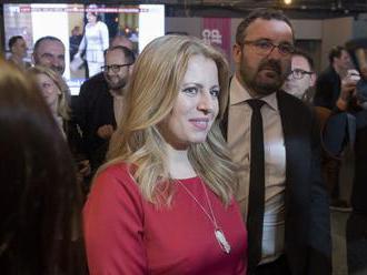 Čaputová vyhrala, v druhom kole sa stretne so Šefčovičom