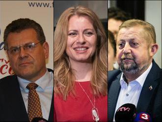 V dueli sa stretne Čaputová so Šefčovičom! VIDEO Reakcie prezidentských kandidátov: Slovensko chce z