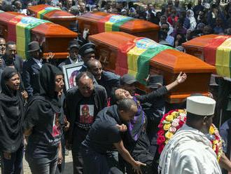 V Etiópii sa koná smútočný obrad za obete nešťastia: Pozostalí dostali symbolické pamiatky