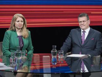 Začal sa boj o palác! Bude drsný, naznačili debaty: Prvý útok Šefčoviča, Čaputová odchádza zo strany