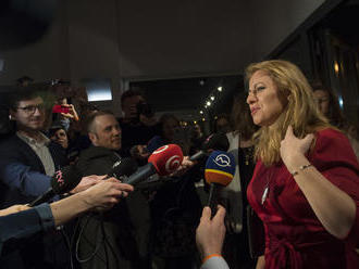 Zuzana Čaputová reaguje na prieskum, je vďačná. Gratuloval jej už aj Kiska