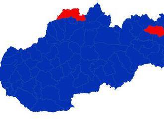 Okresy ovládla Čaputová, v Snine vyhral Šefčovič len o tri hlasy