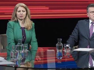 Čaputová aj Šefčovič cítia volanie po zmene, obaja idú vyhrať