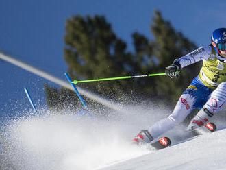 Vlhová štvrtá po 1. kole obrovského slalomu