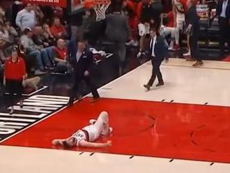 VIDEO: Hrozivé zranenie v NBA, škaredé zábery dostali aj komentátora