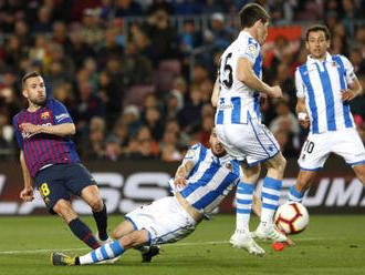 Barcelona odpověděla na výhru Atlética a míří dál za titulem