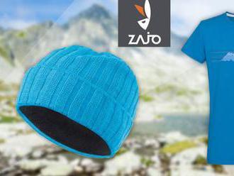 Aj pre malých turistov! Detské tričká a zimné čiapky z merino vlny ZAJO.