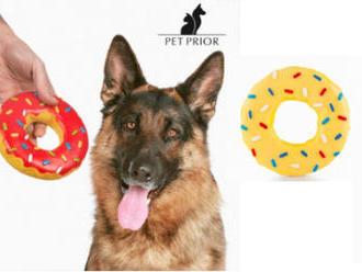 Sami uvidíte, ako si váš maznáčik obľúbi lákavú hračku pre psov donut Pet Prior.