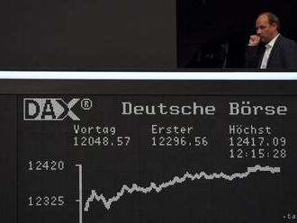 Európske akcie si v pondelok mierne polepšili, Dax vzrástol