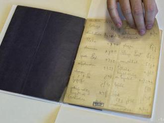 Izraelská národná knižnica zverejní neznáme rukopisy Franza Kafku