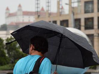 Slovensko sa po dlhšom suchom období dočkalo zrážok