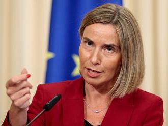 Mogheriniová vyzvala EÚ, aby znovu vyslala vojnové lode do Stredozemného mora