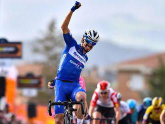 Alaphilippe zopakoval triumf spred roka na Mur de Huy, Sagan nestačil tempu a odstúpil