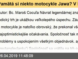 Pamätá si niekto motocykle Jawa? V Indii sa na nich čaká i 5 mesiacov