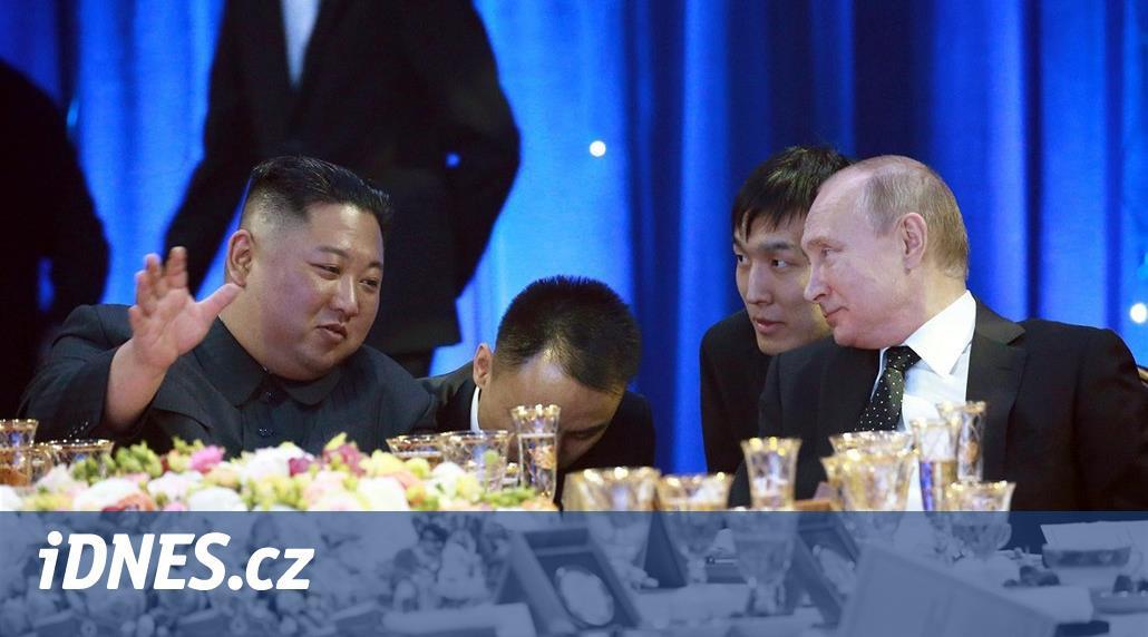 KOMENTÁŘ: Putin dal Kimovi příležitost tvářit se jako osvícený vůdce