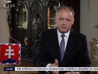 Očiernil Kiska v Česku časť slovenskej politickej scény?