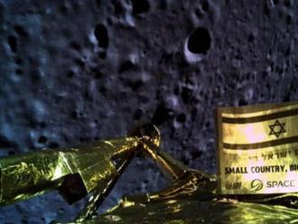 Izraelskej sonde sa nepodarilo úspešne pristáť na Mesiaci
