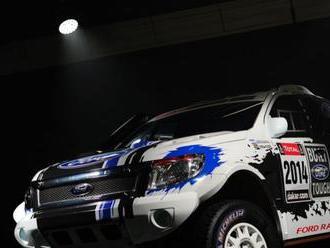 Ford Ranger mieri na Dakar
