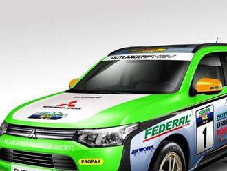 Mitsubishi posiela na Cross Country Rally hybridný Outlander