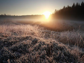 V noci môžu byť na celom Slovensku prízemné mrazy, výstraha platí pre všetky kraje